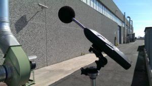 Misurazione di impatto acustico