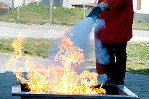Spegnimento incendio corso